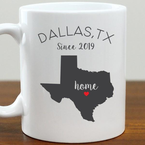211062TX: Coffee Mug White 11oz TX