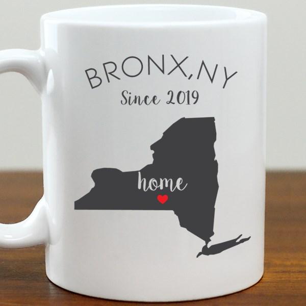 211062NY: Coffee Mug White 11oz NY