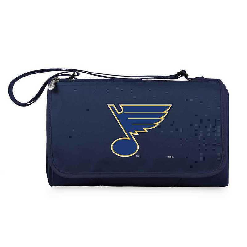 820-00-138-254-10: St Louis Blues - 'Blnkt Tote' (Nvy)