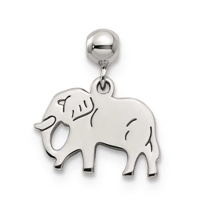 QMM233: 925 Mio Memento Dangle Elephant Charm