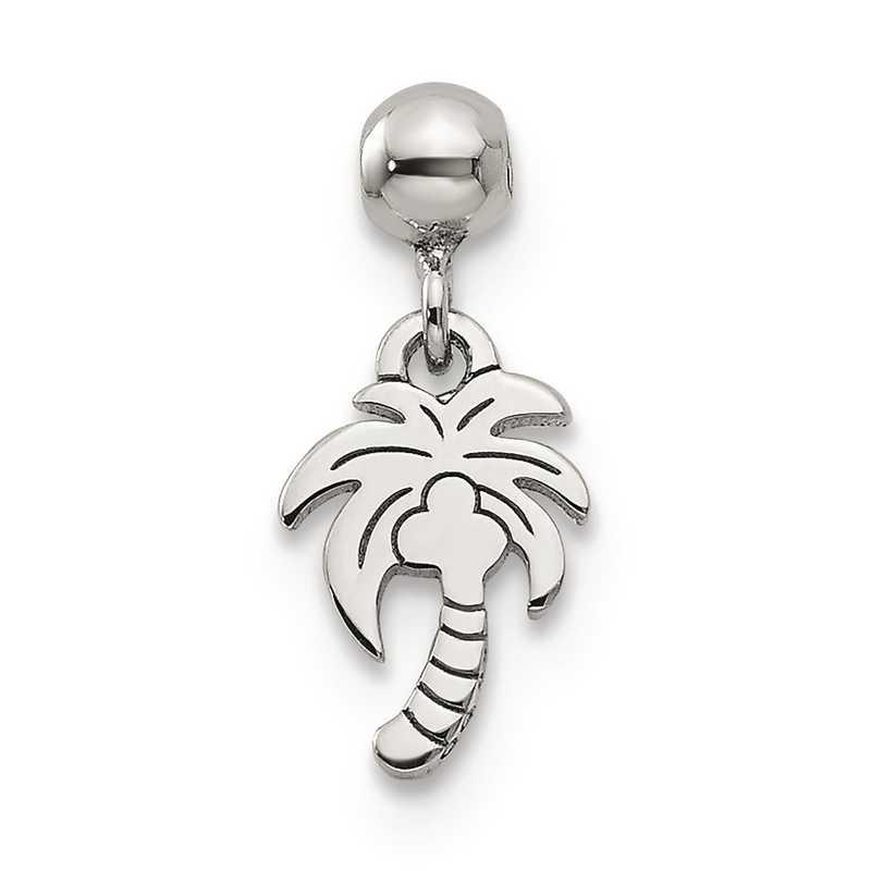 QMM245: 925 Mio Memento Dangle Palm Tree Charm