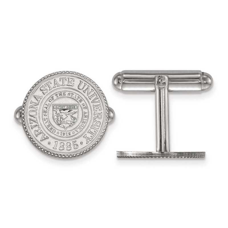 SS046AZS: SS LogoArt Arizona State University Crest Cuff Link