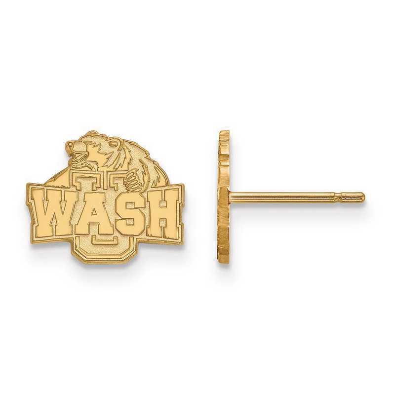 GP008WUS: SS GP LogoArt Washington U in St. Louis XS Post Earrings