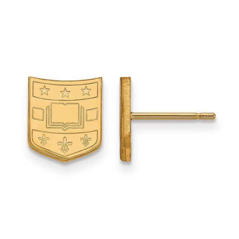 GP018WUS: SS GP Logo Art Washington Univ in St. Louis XS Post Earrings