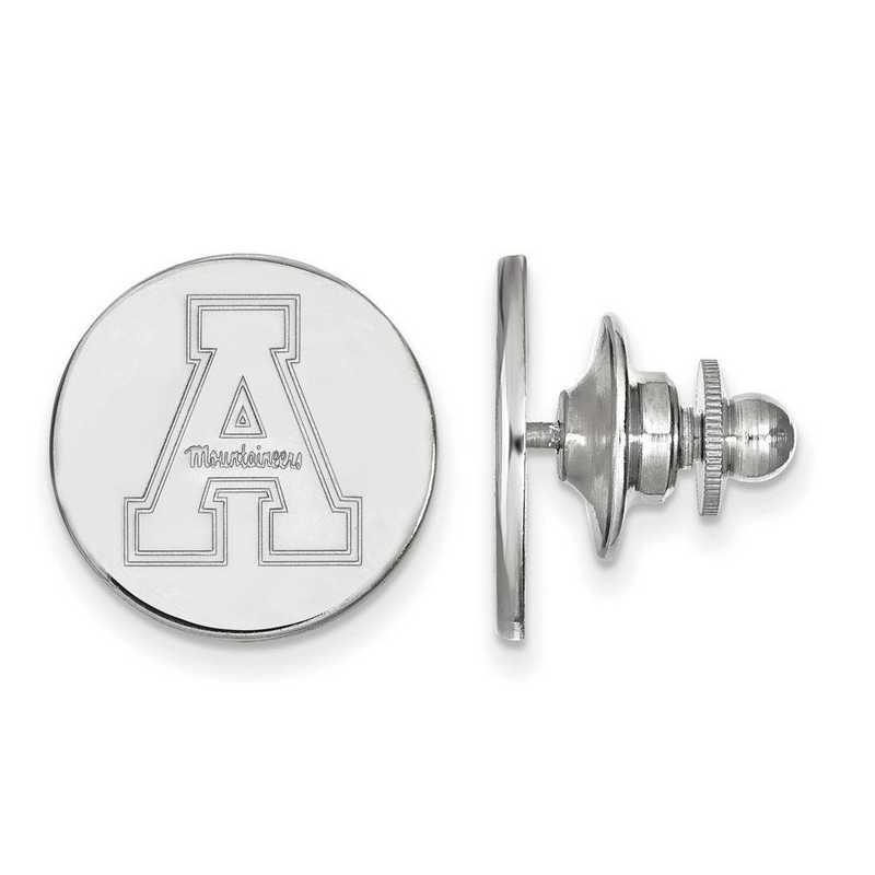 SS009APS: SS LogoArt Appalachian State University Lapel Pin