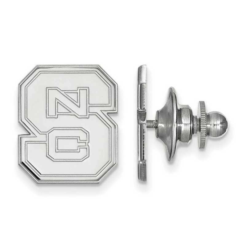 SS011NCS: SS LogoArt North Carolina State University Lapel Pin