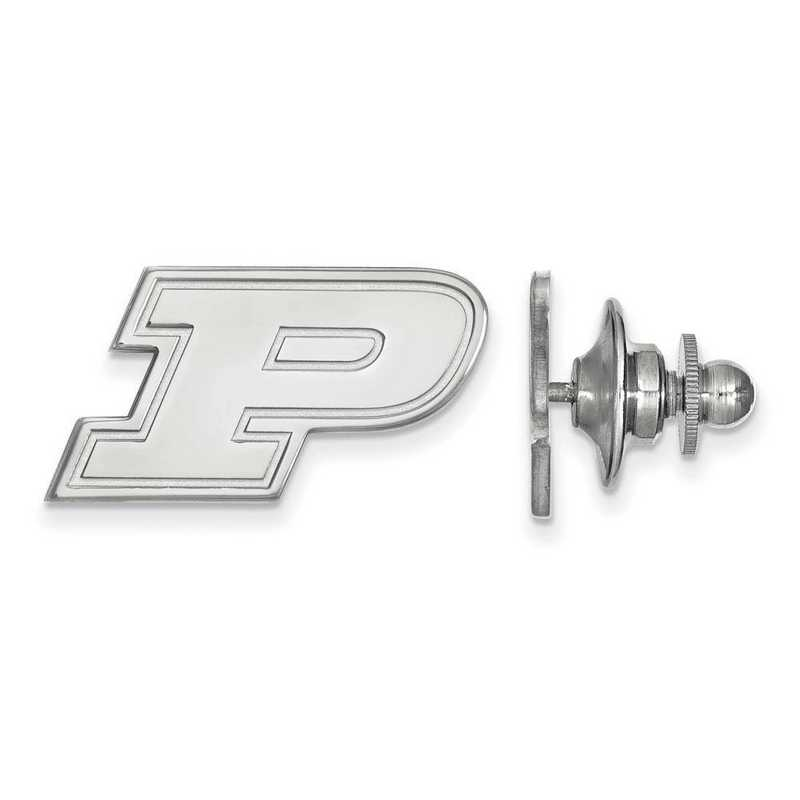 SS011PU: SS LogoArt Purdue Lapel Pin