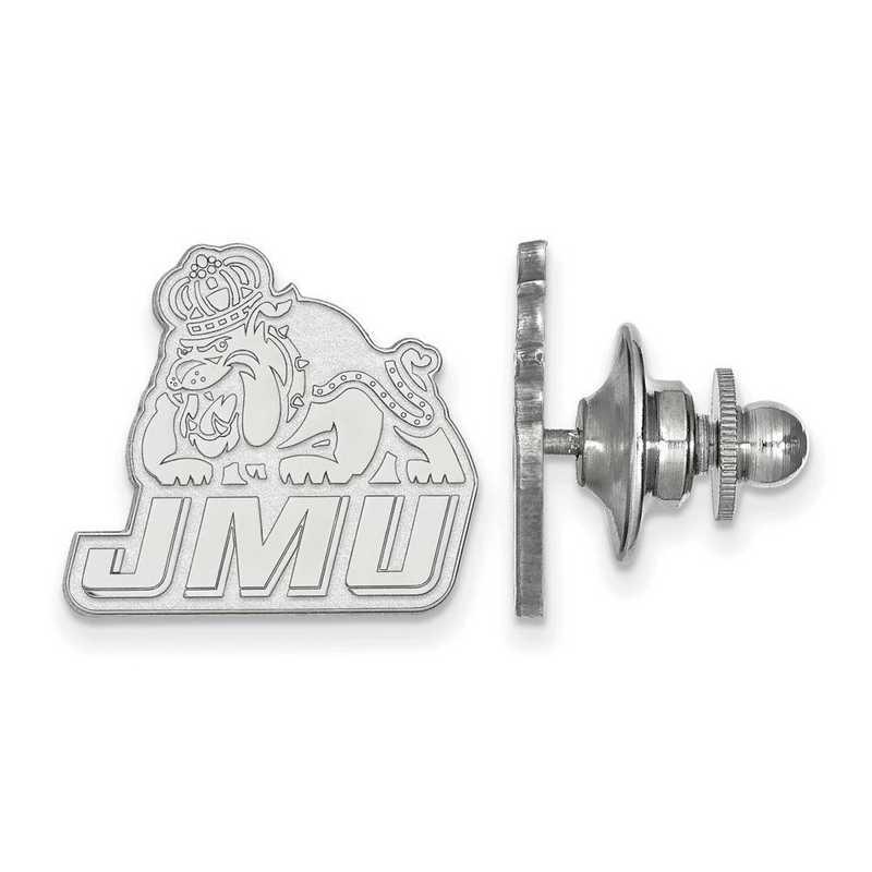 SS019JMU: SS LogoArt James Madison University Lapel Pin