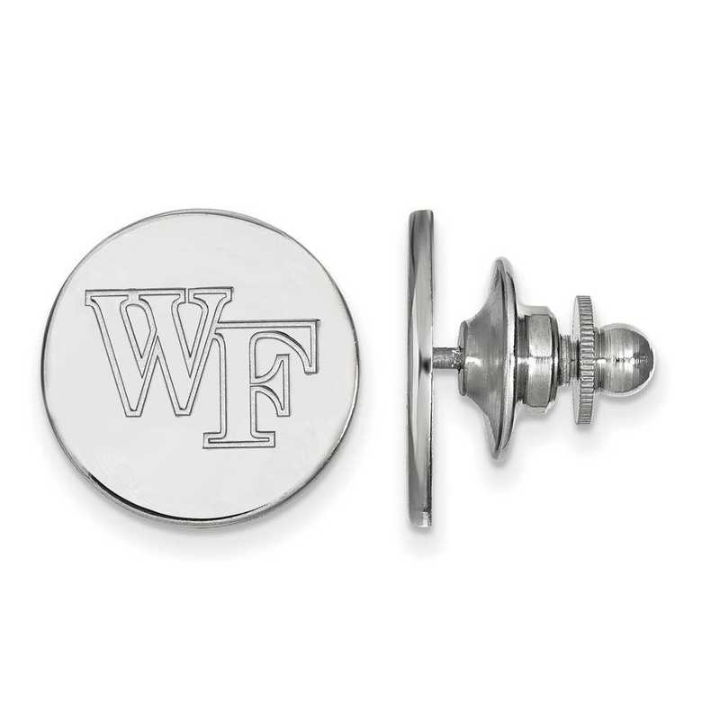 SS071WFU: SS LogoArt Wake Forest University Lapel Pin