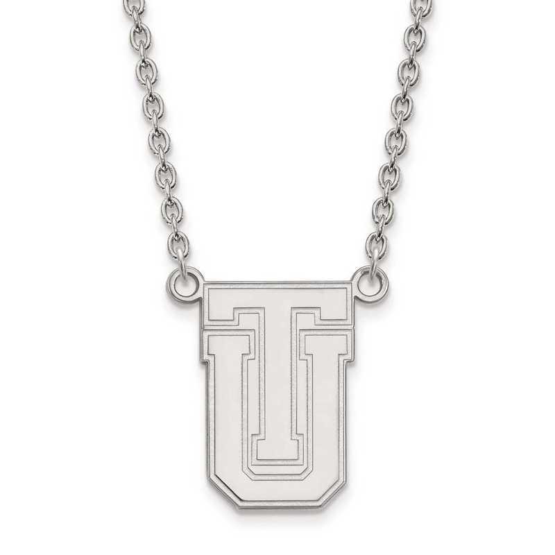 1W009UTL-18: 10kw LogoArt The Univ of Tulsa Large Pendant w/Necklace