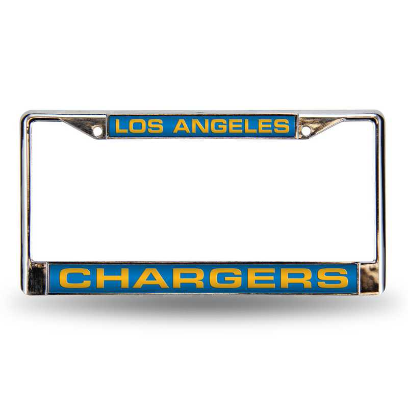 FCL3402: NFL FCL Chrome Lsr License Frame Charger