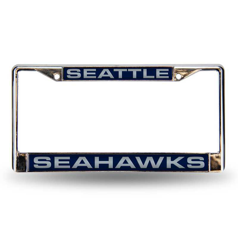 FCL2902: NFL FCL Chrome Lsr License Frame Seahawks
