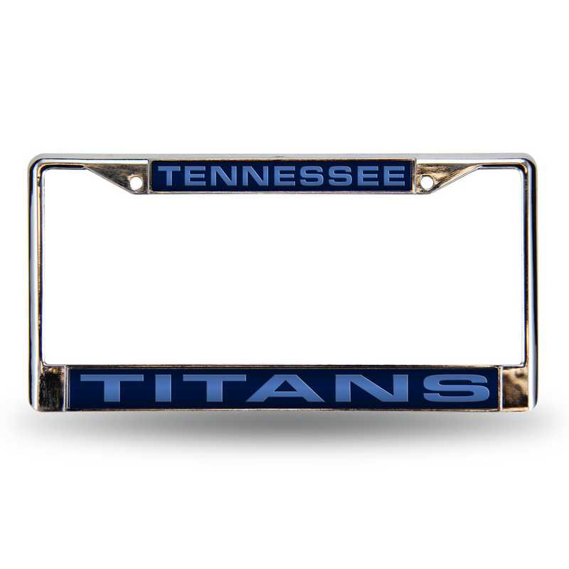 FCL0301: NFL FCL Chrome Lsr License Frame Titans