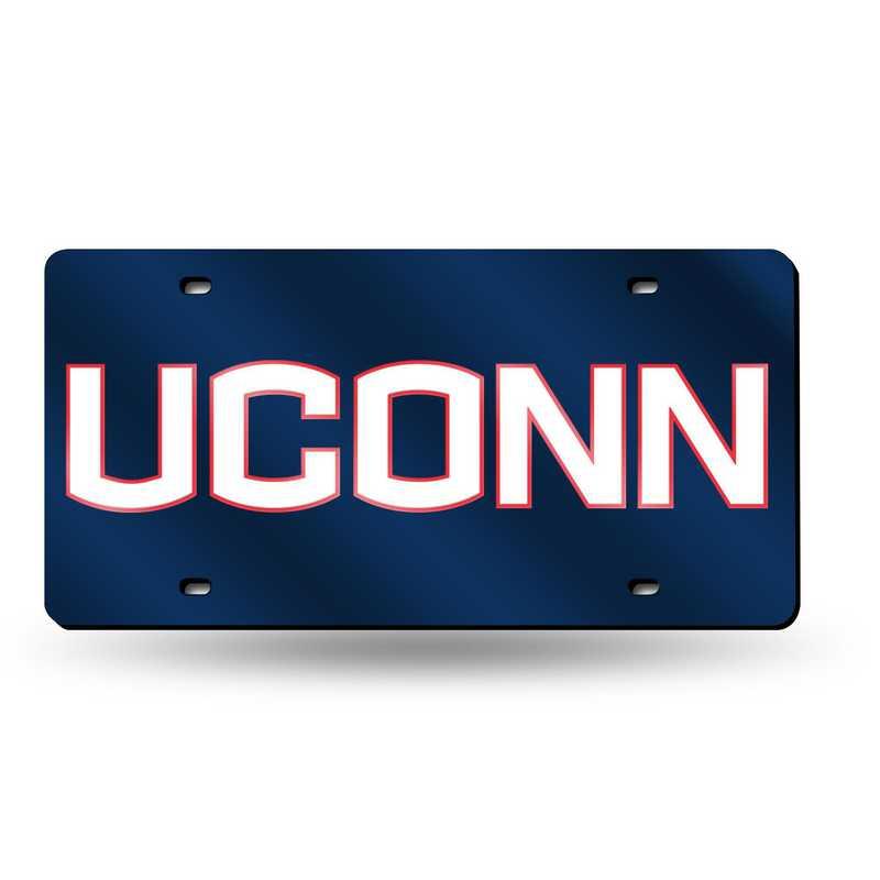 LZC140202: NCAA LZC Laser Cut Tag UCONN