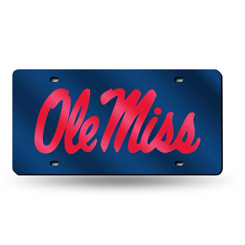 LZC160201: NCAA LZC Laser Cut Tag Mississippi
