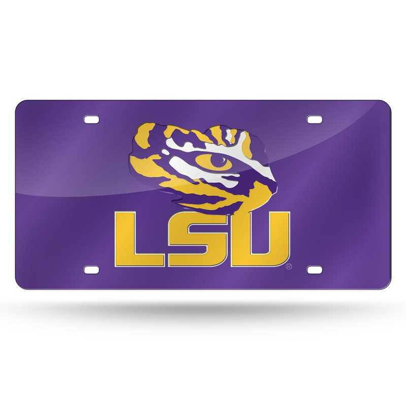 LZC170102: NCAA LZC Laser Cut Tag LSU