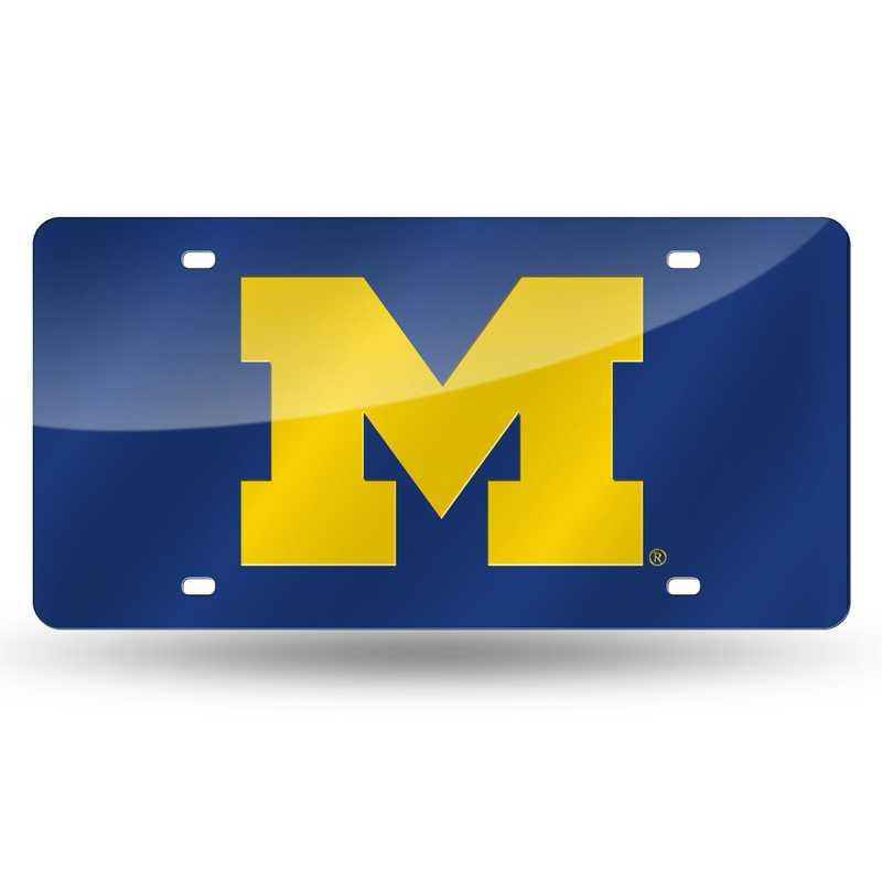 LZC220002: NCAA LZC Laser Cut Tag Michigan