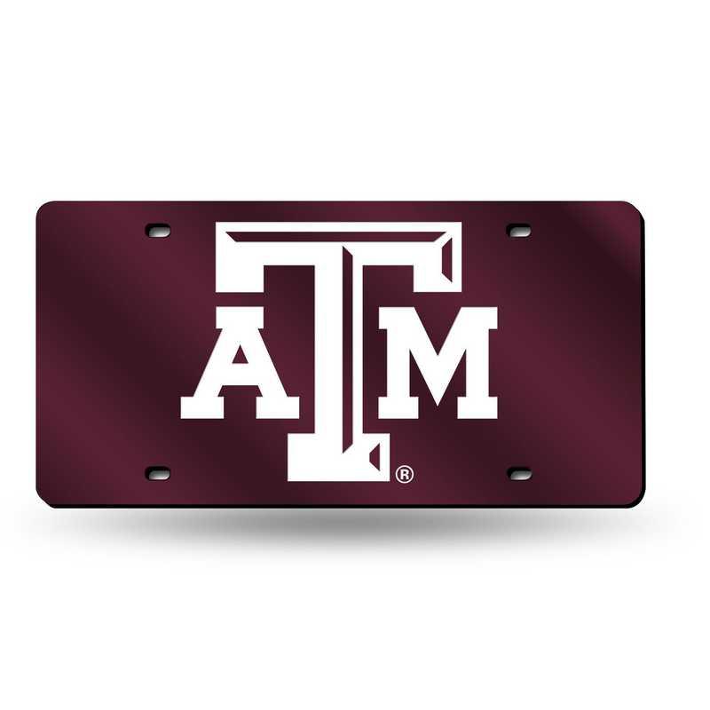 LZC260202: NCAA LZC Laser Cut Tag Texas A&M