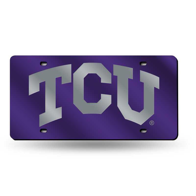 LZC260501: NCAA LZC Laser Cut Tag TCU