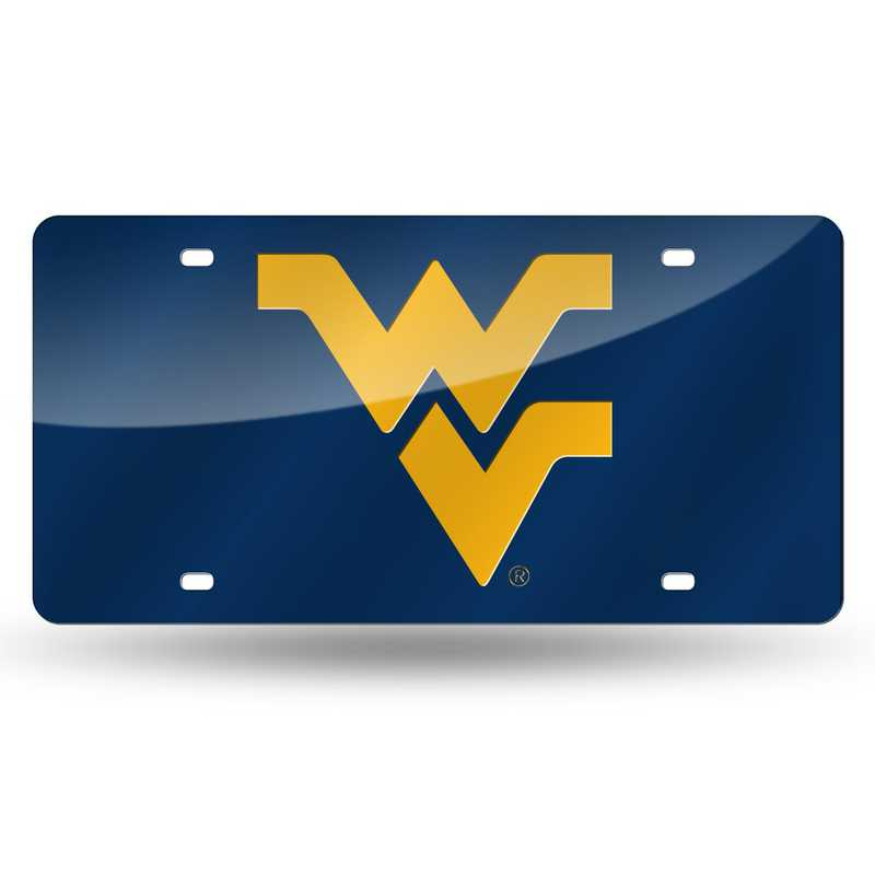 LZC280102: NCAA LZC Laser Cut Tag West Virginia