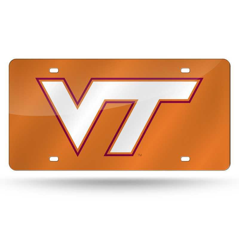 LZC340202: NCAA LZC Laser Cut Tag Virginia Tech