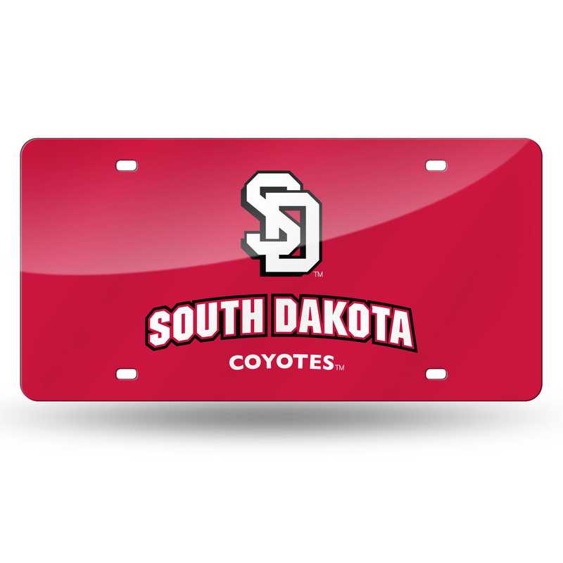 LZC410801: NCAA LZC Laser Cut Tag South Dakota