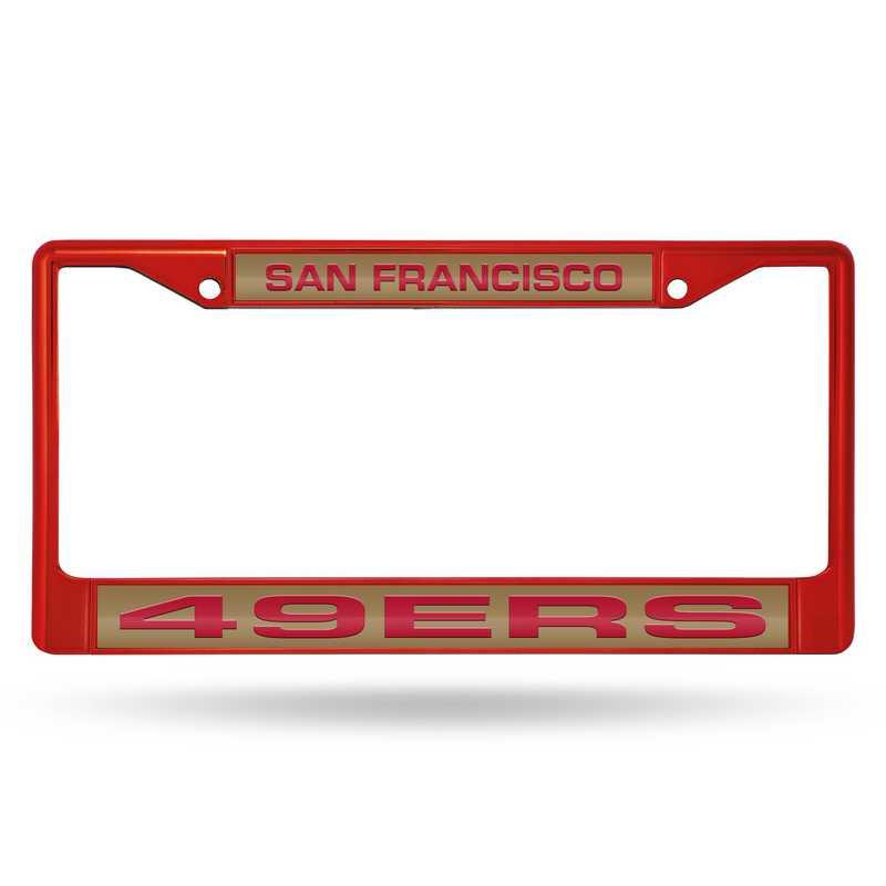 FNFCCL1903RD: NFL FCCL Lsr Color Chrome Frame 49ers