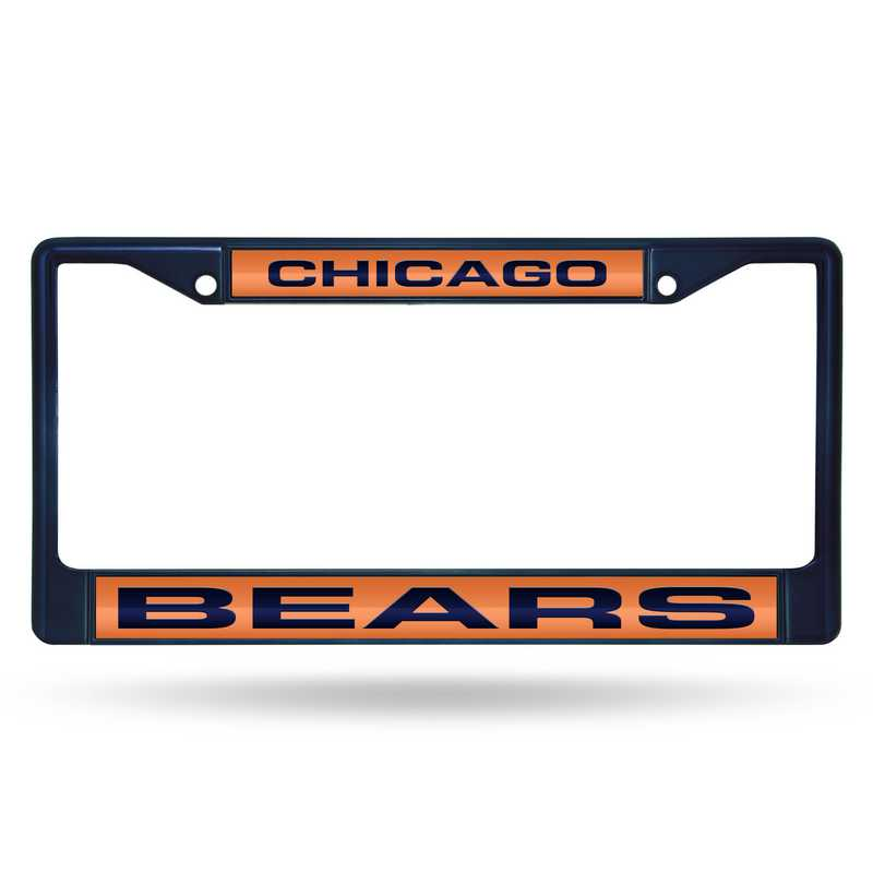 FNFCCL1202NV: NFL FCCL Lsr Color Chrome Frame Bears