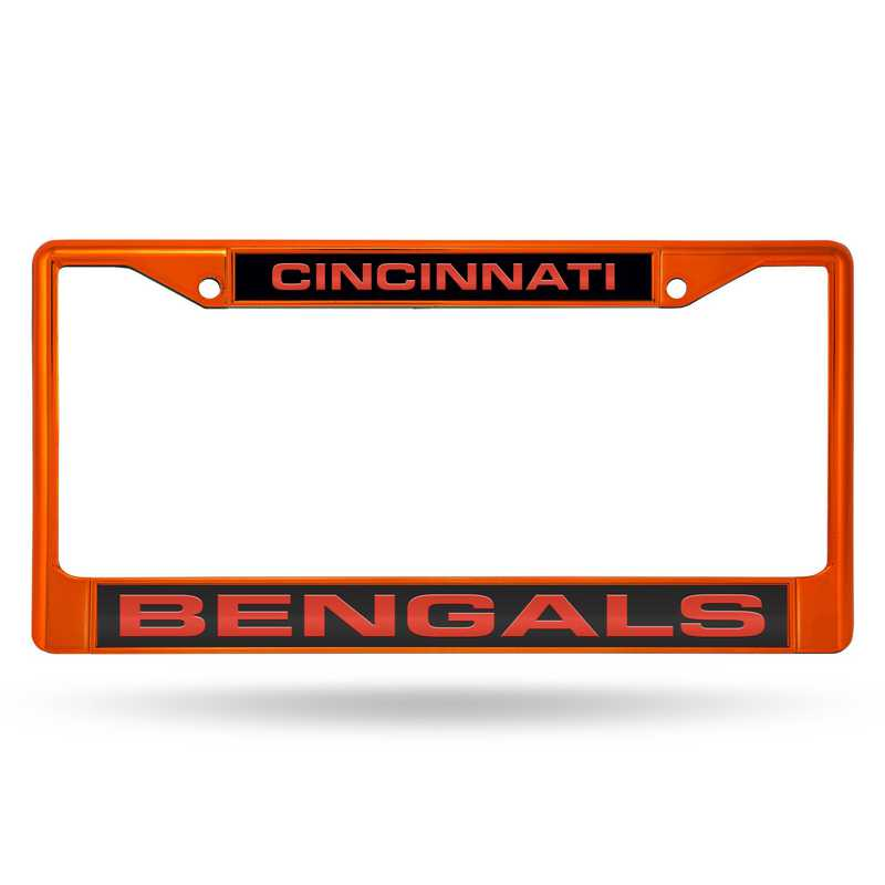 FNFCCL3201OR: NFL FCCL Lsr Color Chrome Frame Bengals
