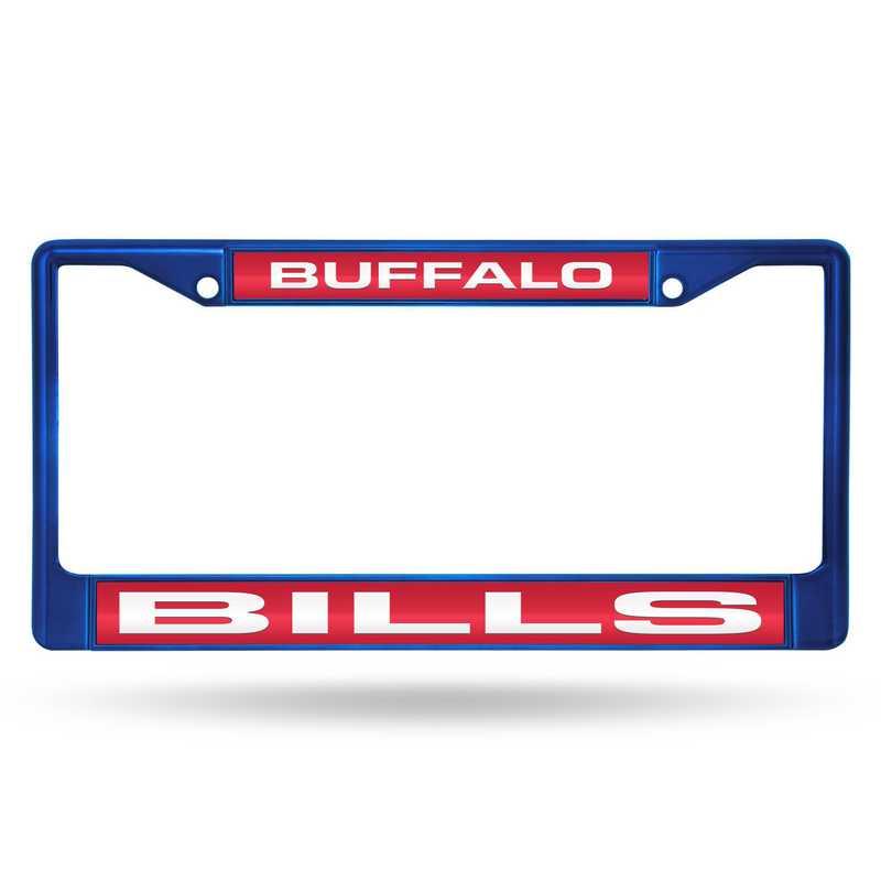 FNFCCL3502BL: NFL FCCL Lsr Color Chrome Frame Bills