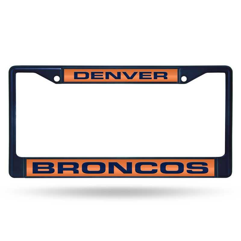 FNFCCL1602NV: NFL FCCL Lsr Color Chrome Frame Broncos