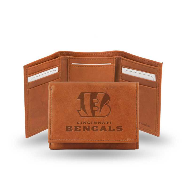 STR3205: NFL STR Trifold  Wallet, Bengals