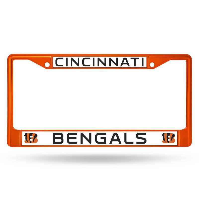 FCC3203OR: NFL FCC Chrome Frame (Colored) Bengals