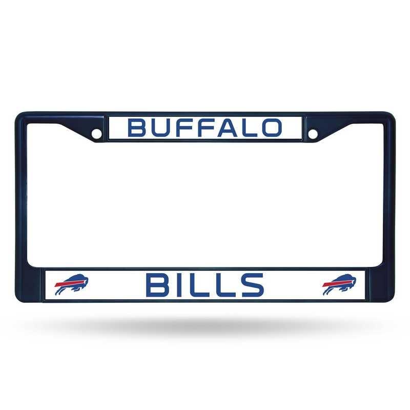 FCC3503NV: NFL FCC Chrome Frame (Colored) Bills