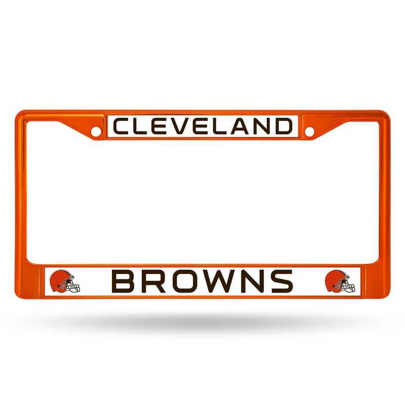 FCC2804OR: NFL FCC Chrome Frame (Colored) Browns