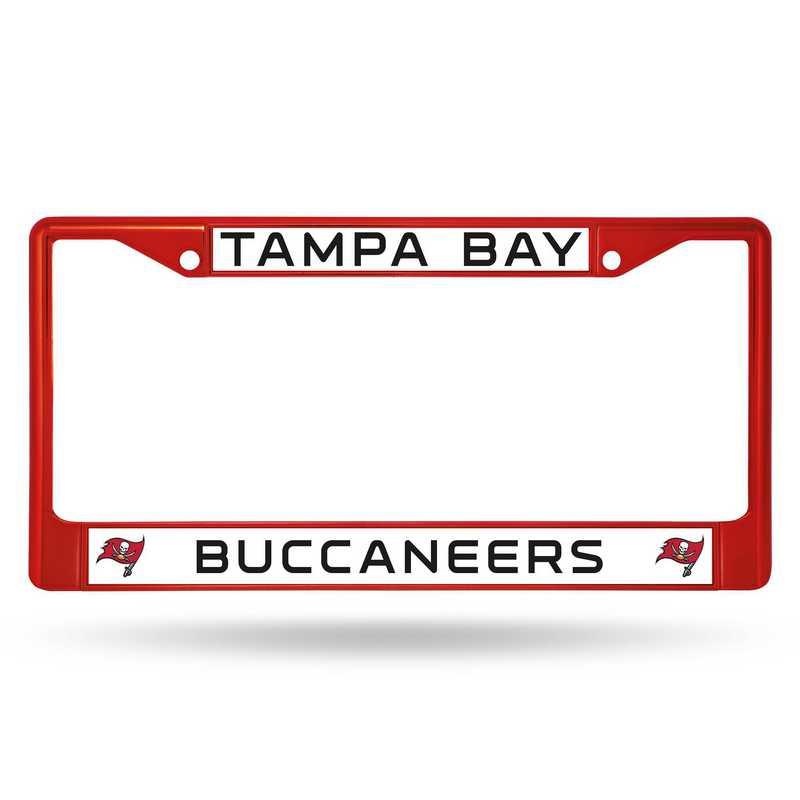 FCC2103RD: NFL FCC Chrome Frame (Colored) Buccaneer