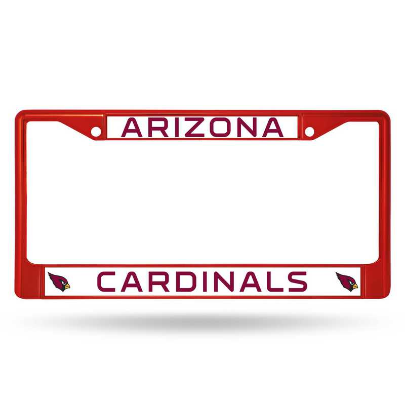 FCC3603RD: NFL FCC Chrome Frame (Colored) Cardinals