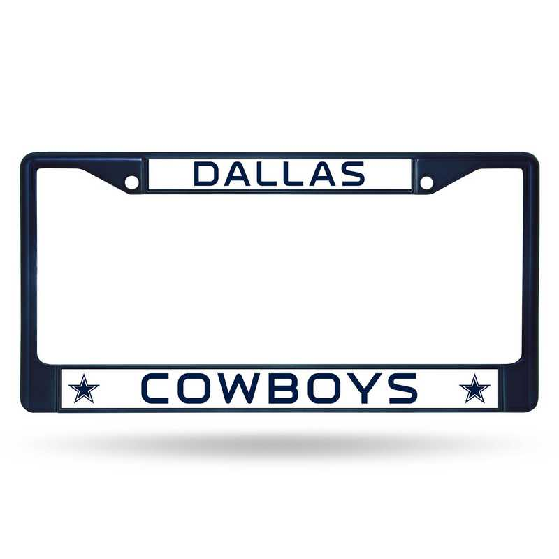 FCC1802NV: NFL FCC Chrome Frame (Colored) Cowboys