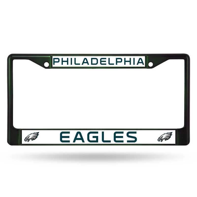 FCC2504DG: NFL FCC Chrome Frame (Colored) Eagles