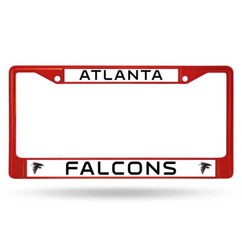 FCC2006RD: NFL FCC Chrome Frame (Colored) Falcons