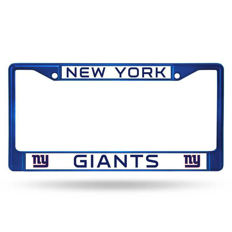 FCC1404BL: NFL FCC Chrome Frame (Colored) Giants