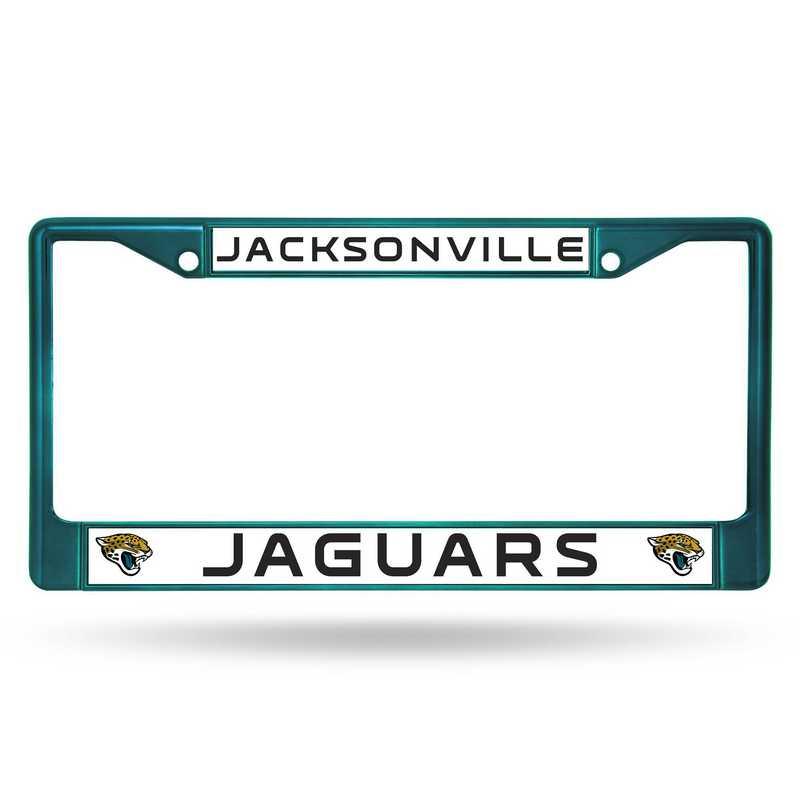 FCC0903AQ: NFL FCC Chrome Frame (Colored) Jaguars