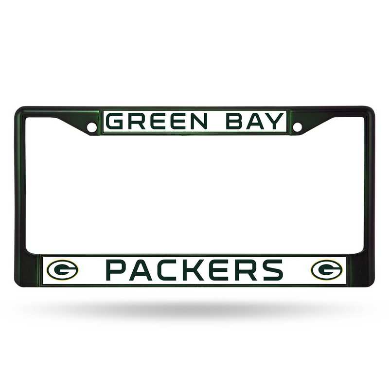 FCC3303DG: NFL FCC Chrome Frame (Colored) Packers