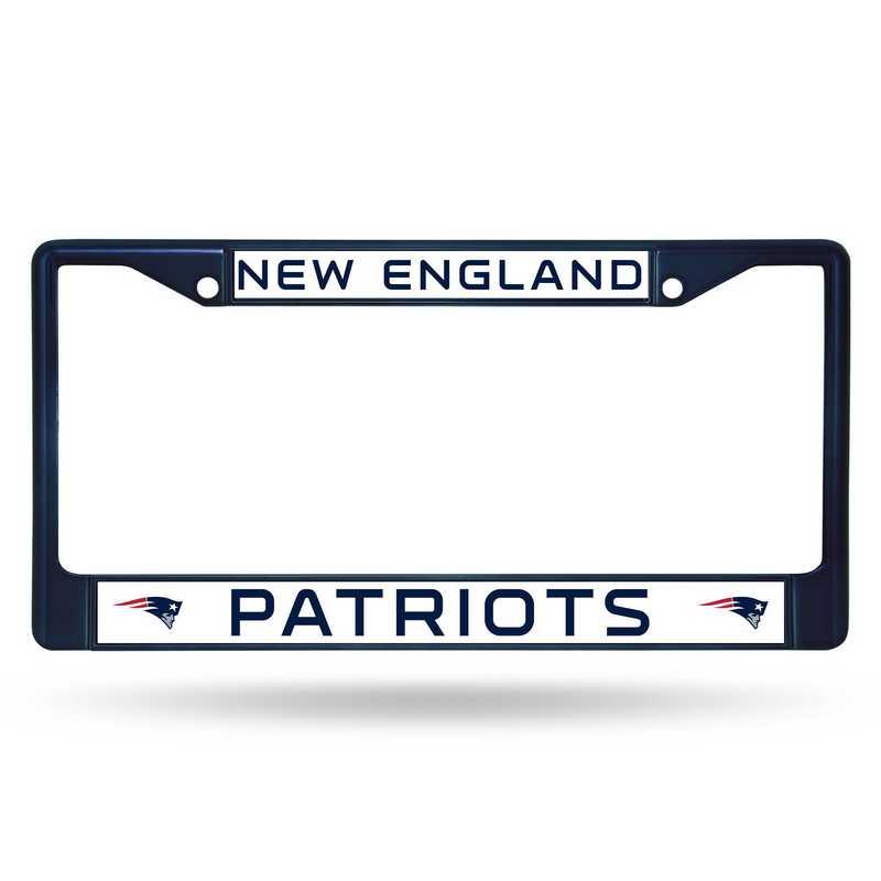 FCC1505NV: NFL FCC Chrome Frame (Colored) Patriots