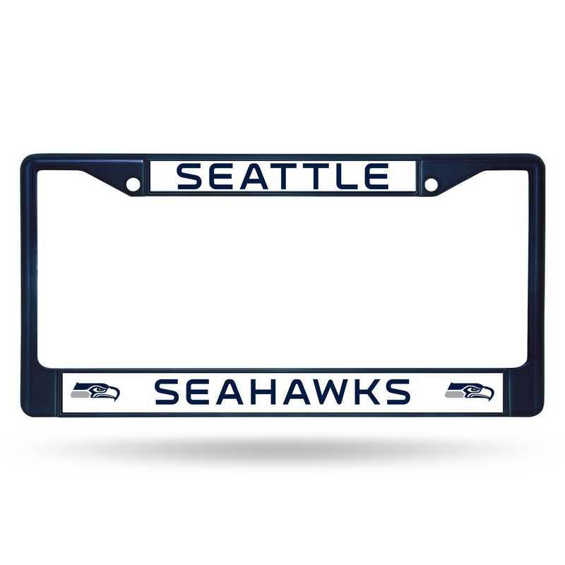 FCC2904NV: NFL FCC Chrome Frame (Colored) Seahawks