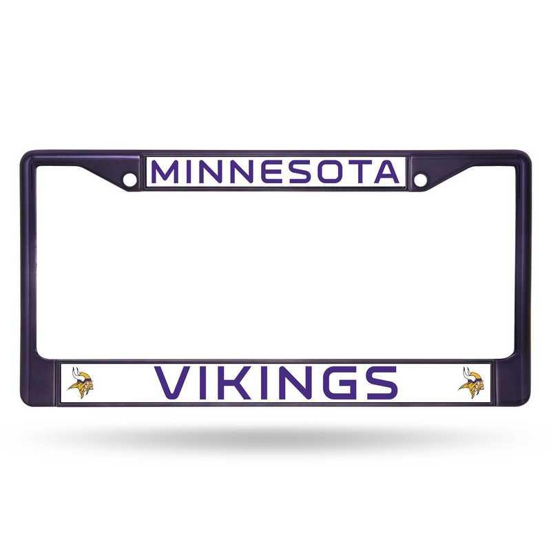 FCC3106PR: NFL FCC Chrome Frame (Colored) Vikings