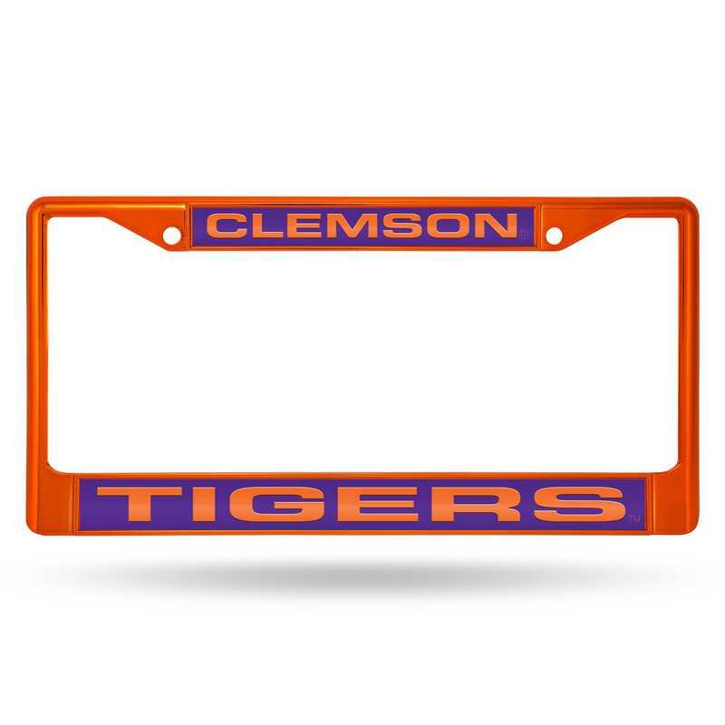 FNFCCL120202OR: NCAA FCCL Lsr Color Chrome Frm Clemson