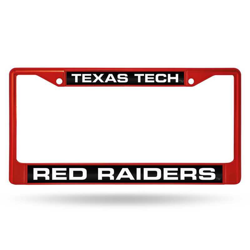 FNFCCL260802RD: NCAA FCCL Lsr Color Chrome FrmTexas Tech