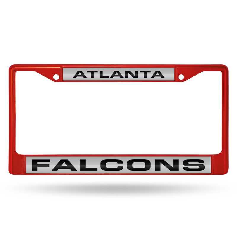 FNFCCL2002RD: NFL FCCL Lsr Color Chrome Frame Falcons