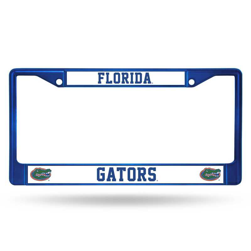FCC100104BL: NCAA FCC Chrome Frame (Colored) Florida